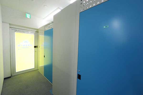 トランクルーム札幌中の島店 室内