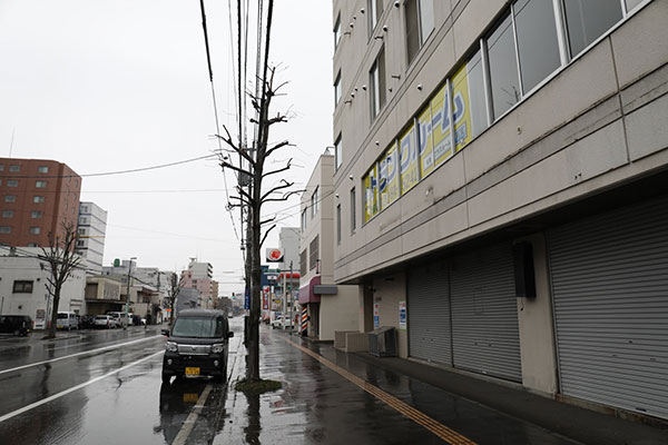 トランクルーム札幌北8条店正面2