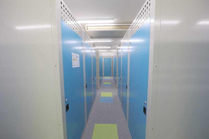 トランクルーム札幌北郷店 室内