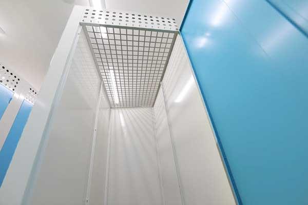 トランクルーム札幌北郷店 天井