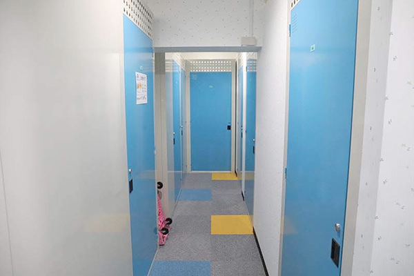 レンタル収納スペース札幌澄川店 室内