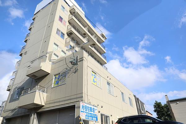 トランクルーム札幌菊水店 外観