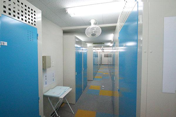 トランクルーム広島昭和町店室内