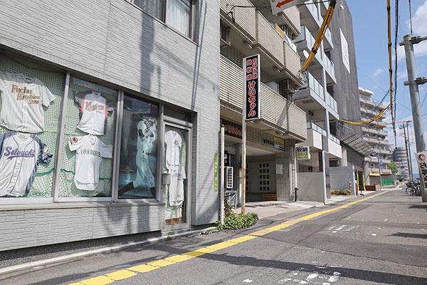 トランクルーム広島昭和町店正面4