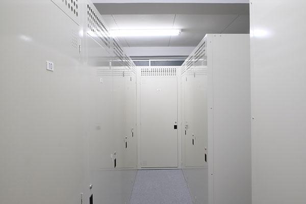 トランクルーム池袋本町室内