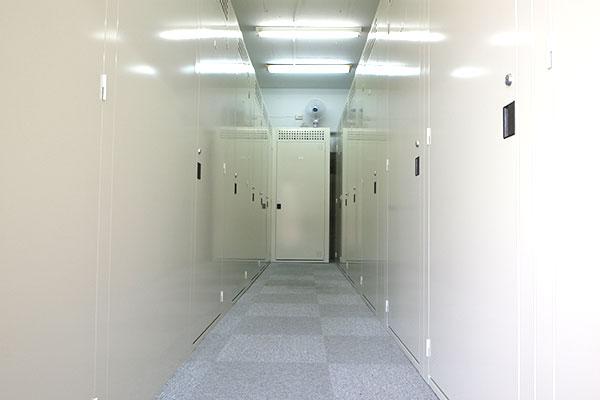 トランクルーム生麦 室内
