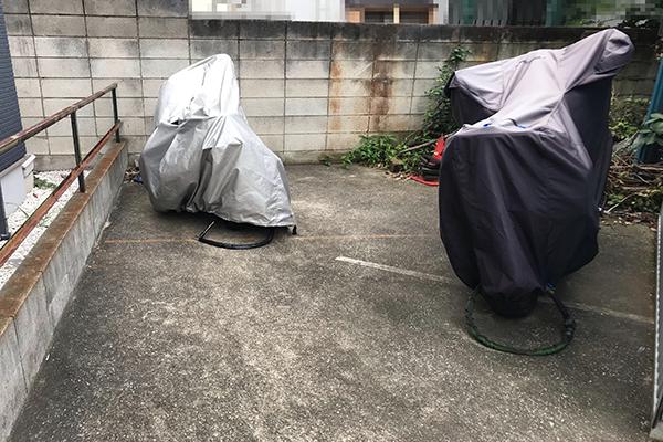 東寺尾北台バイク駐車場 ライン型3
