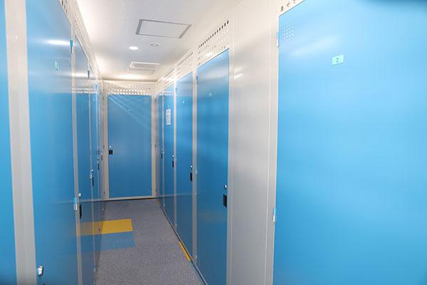 トランクルーム札幌二十四軒室内