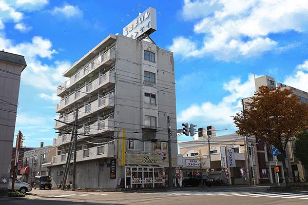 トランクルーム札幌二十四軒正面3