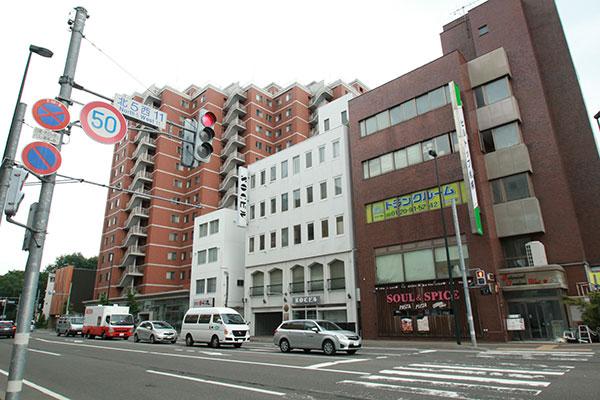 トランクルーム札幌北4条 外観2