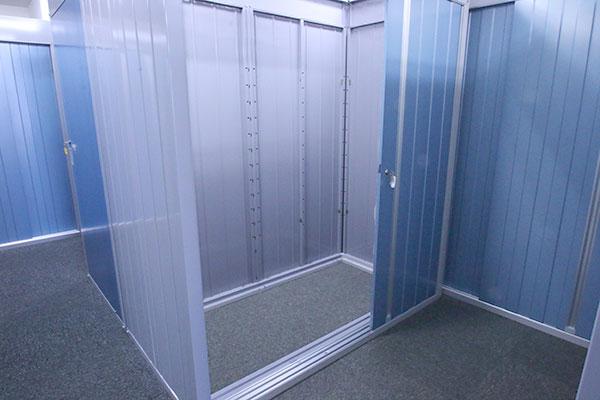 トランクルーム札幌大谷地店 室内