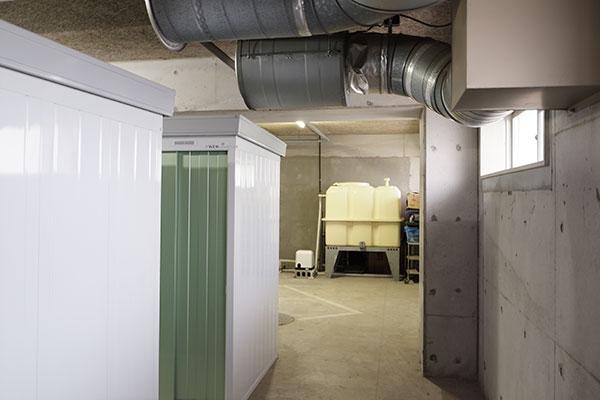 トランクルーム戸塚上矢部店 室内2