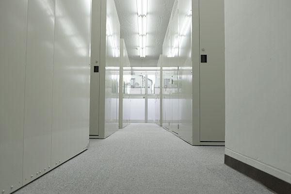 トランクルーム大和桜ケ丘店室内