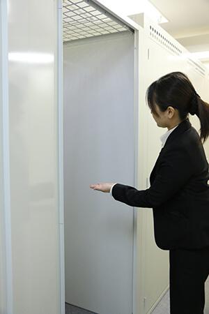 トランクルーム見学案内